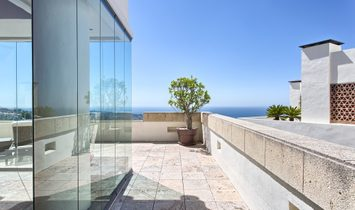 Contemporary style penthouse  with panoramic sea views