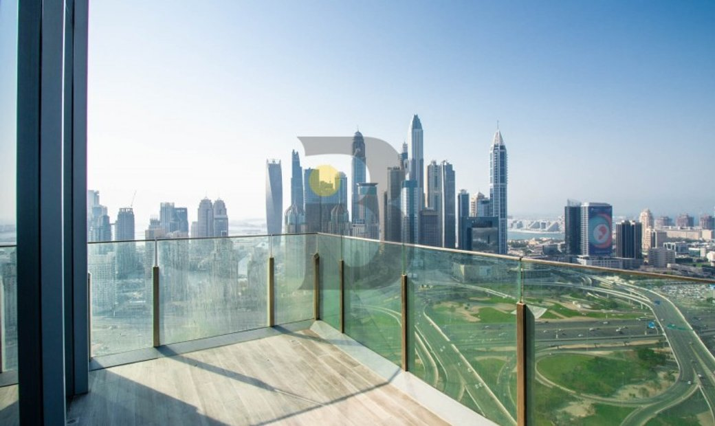 With Open views of Marina Skyline and Golf Course