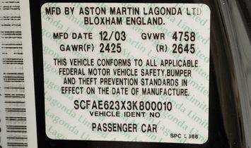 2003 Aston Martin DB-AR1 Roadster