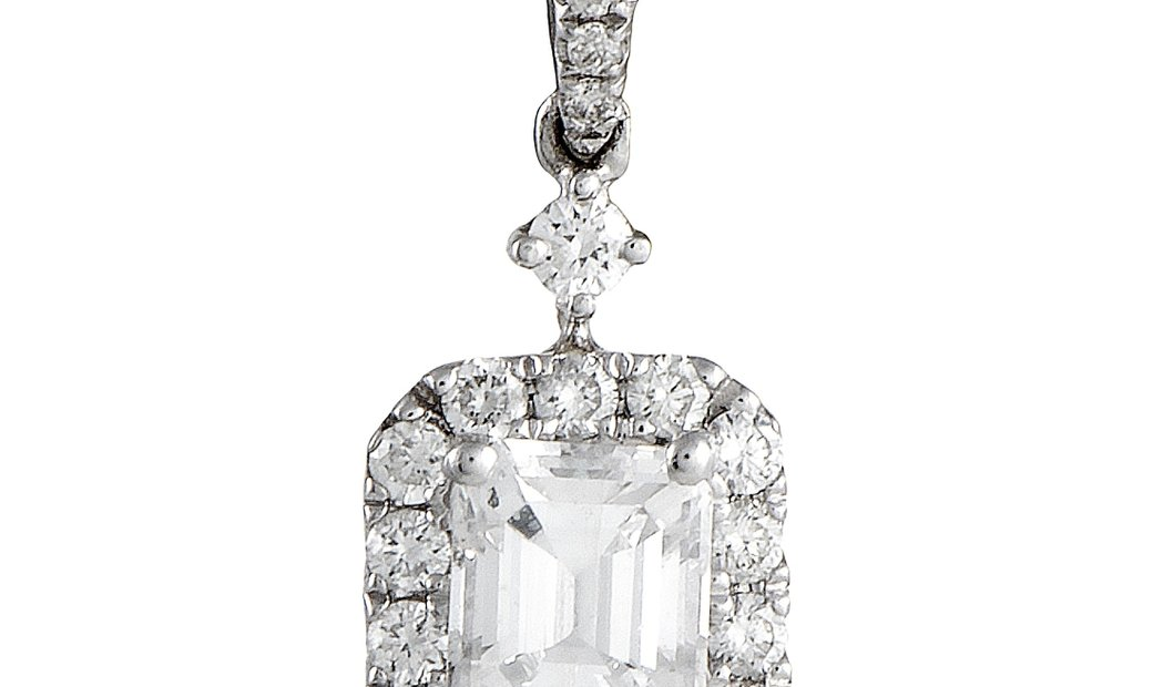 LB Exclusive LB Exclusive 18K White Gold Diamond Pendant