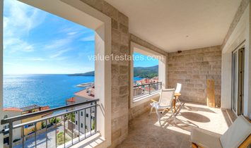 2-bedroom apartment with breathtaking seaview in Lustica Bay