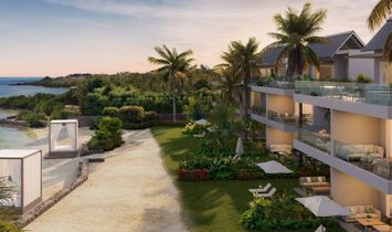 SOMPTUOUS BEACHFRONT APARTMENTS OF 3 BEDROOMS WITH SEA VIEW IN GRAND GAUBE - MAURITIUS