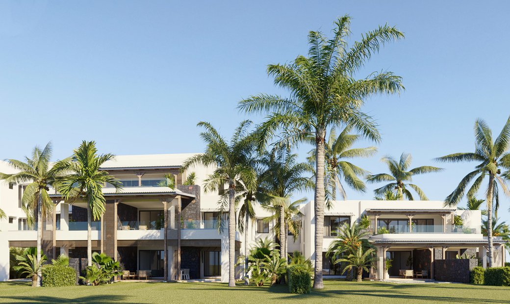 BEAUTIFUL APARTMENT IN THE HEART OF THE GOLF WITH VIEW OF THE RIVER IN ROCHES NOIRES - MAURITIUS