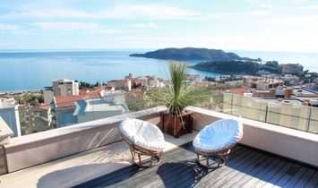 Luxury penthouse in the new residential complex in Becici