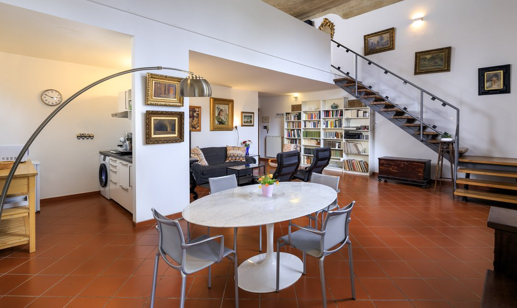 Beautiful Loft In The Center Of Florence