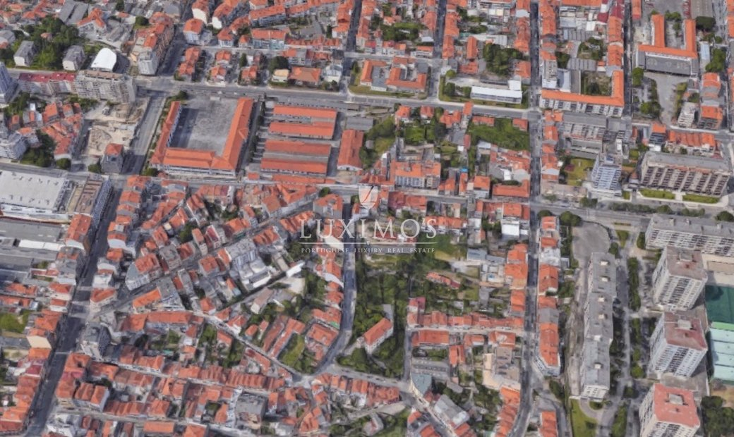 Sell building w/ approved project for construction, Porto, Portugal