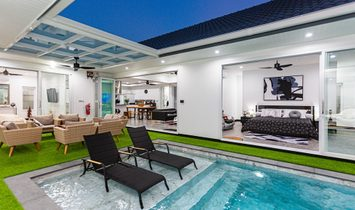 SaIyuan - New Super-StylIsh 4-Bedroom Pool VIlla In RawaI