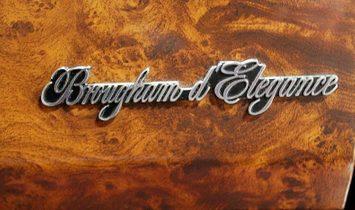 1990 Cadillac Brougham D' elegance