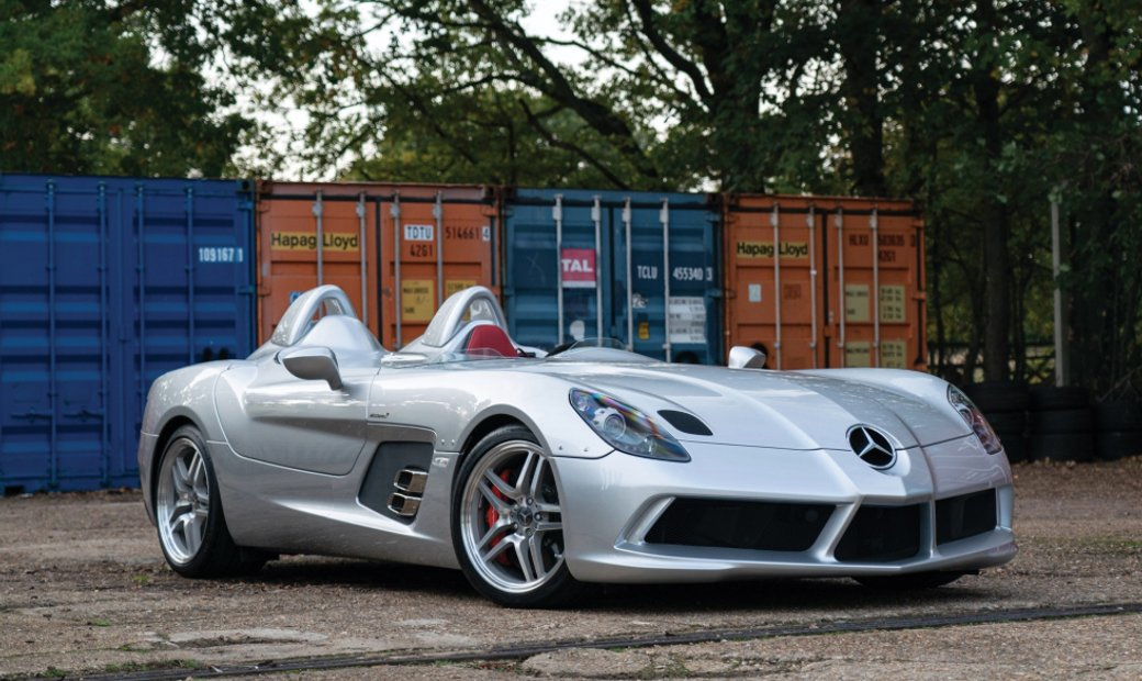 2010 Mercedes-Benz SLR McLaren Stirling Moss