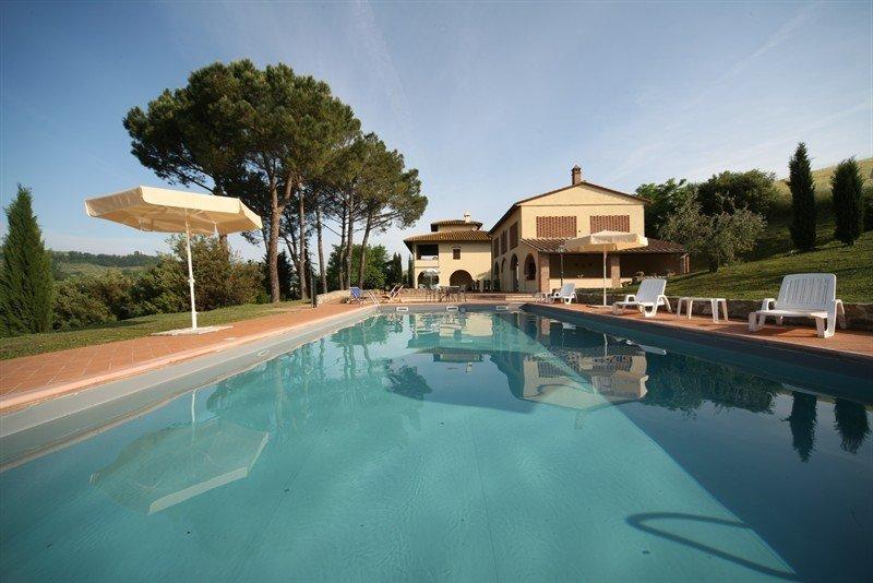 Country House in Certaldo, Tuscany, Italy 1
