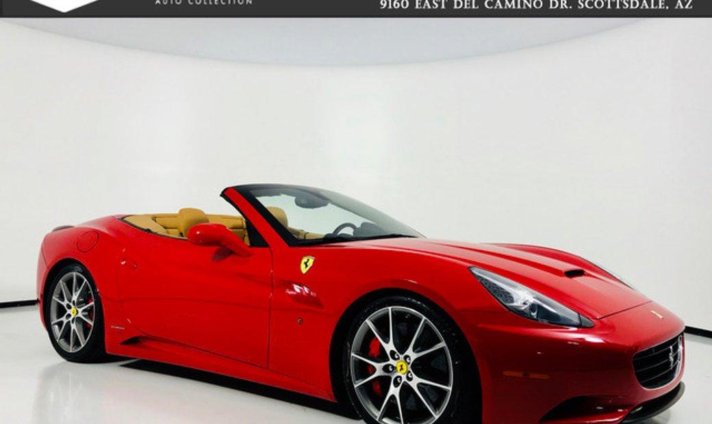 2017 Ferrari California Hardtop Convertible Red Tan