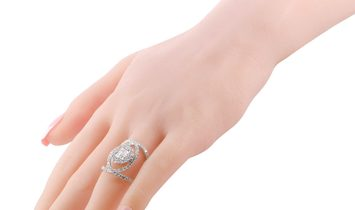 LB Exclusive LB Exclusive 18K White Gold Diamond Ring