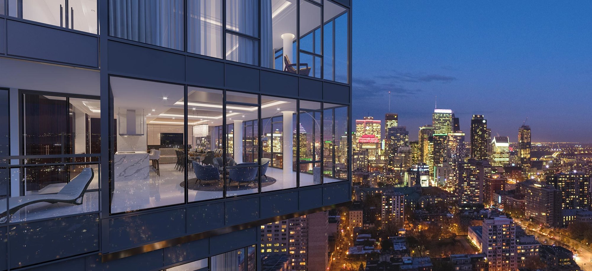 Penthouse in Southwest, Quebec, Canada 1
