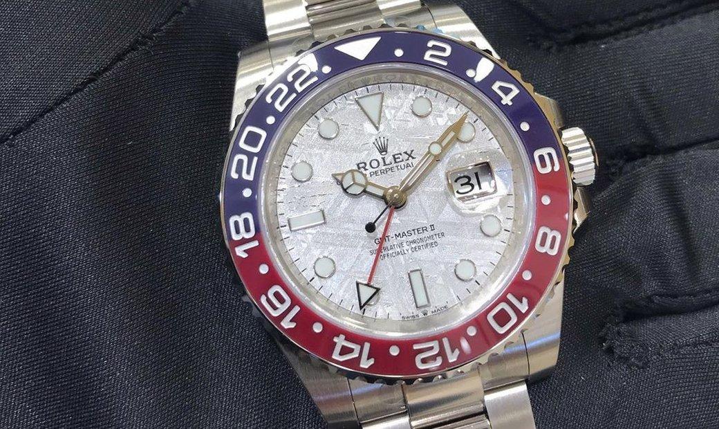 "Rolex GMT-Master II 126719BLRO ""Pepsi"" White Gold"