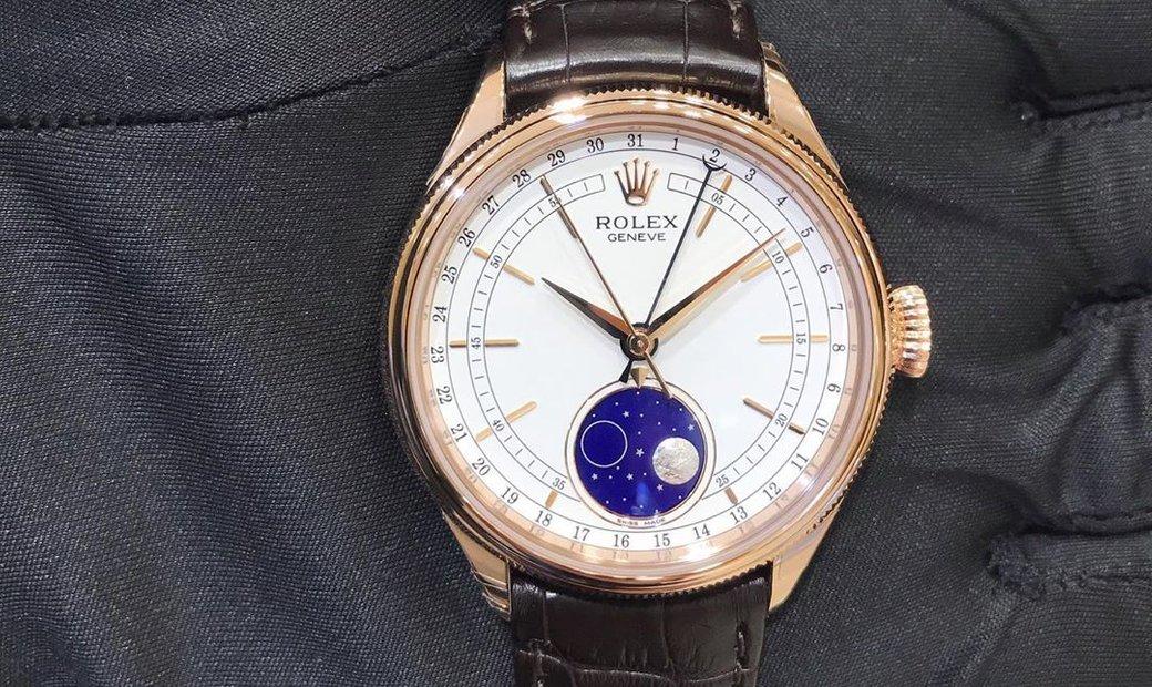 Rolex Cellini Moonphase 50535-0002