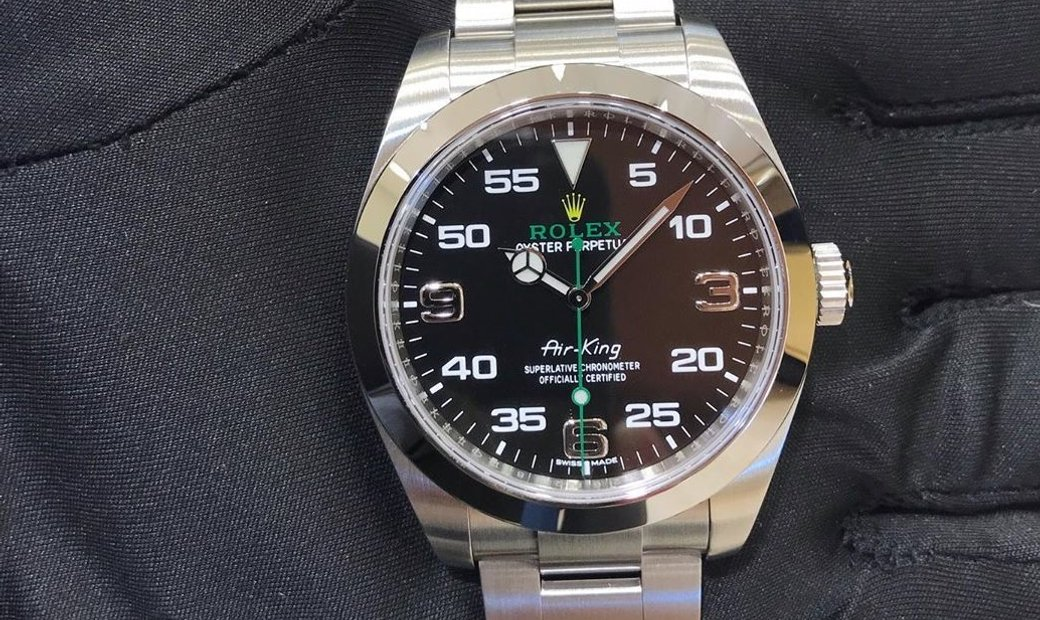 Rolex Air - King 116900-0001 in Stainless Steel