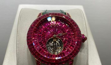 Jacob & Co. 捷克豹 NEW Brilliant Flying Tourbillon Ruby BT543.40.BR.UA.B (Retail:CHF 1'000'000)