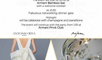 New Year's Eve Event at Armani Milano