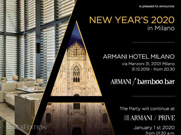 New Year's Eve Event at Armani Milano (10775748)