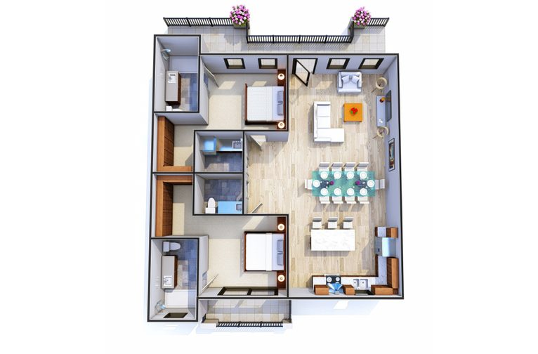 The Crown Penthouse 3