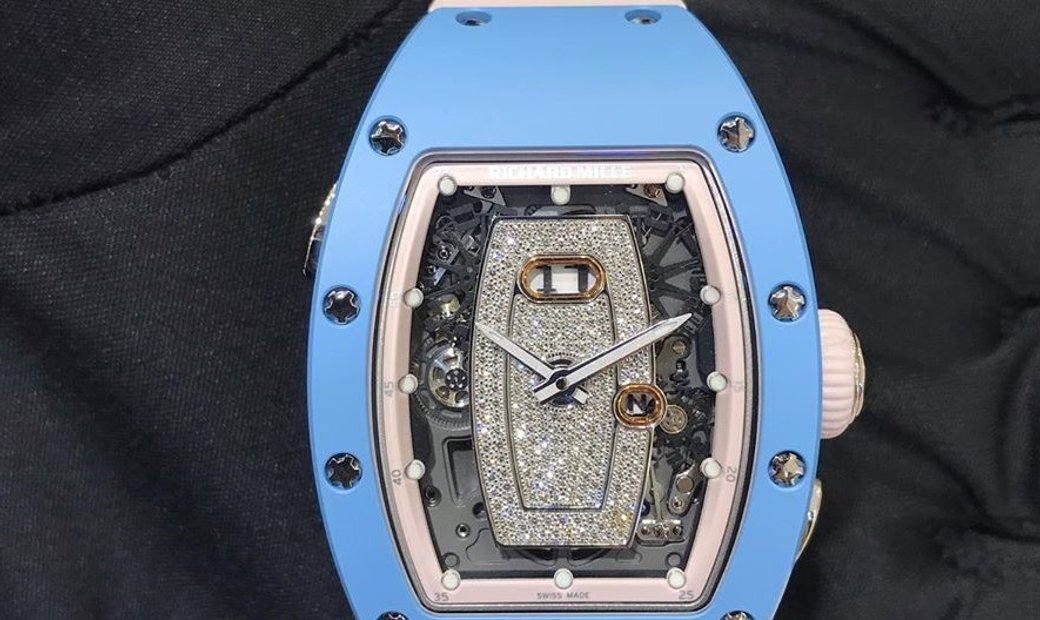 Richard Mille RM 037 Ladies Automatic Diamond Inlay