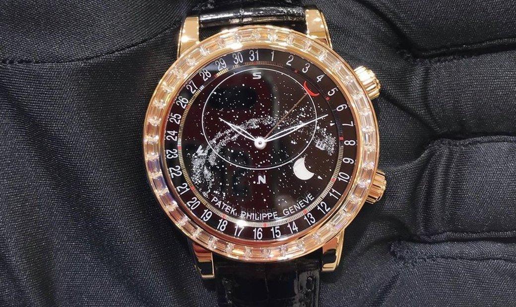 Patek Philippe Grand Complications 6104R Celestial, Moon Age