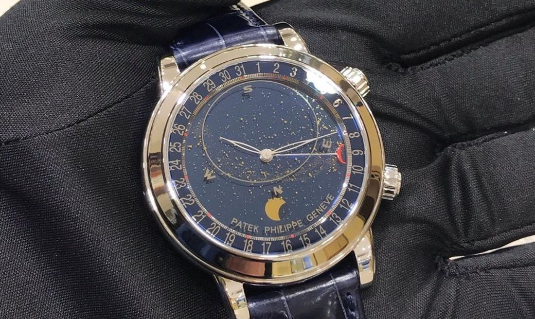 Patek Philippe Grand Complications 6102P-001 Celestial Moon
