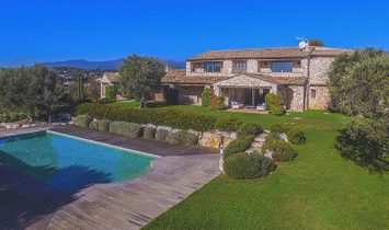 Villa in Roquefort-les-Pins, Provence-Alpes-Côte d'Azur Region, France