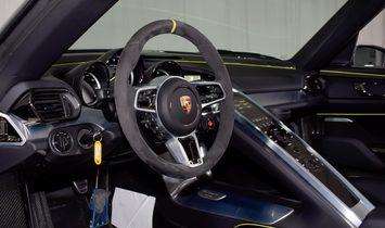 2015 Porsche 918 Spyder awd