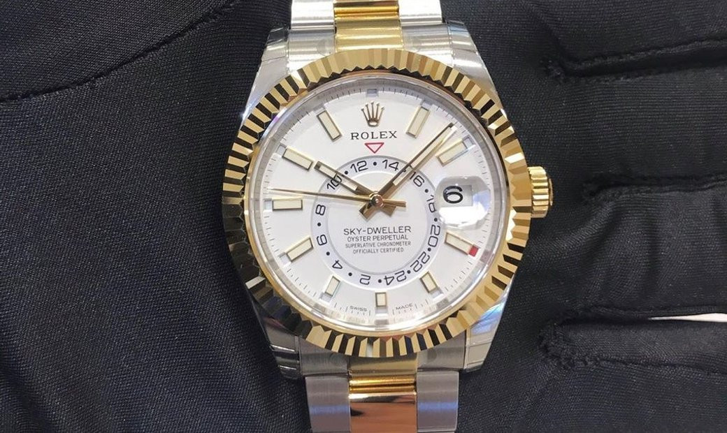 Rolex Sky-Dweller Oyster Perpetual 326138 White Dial