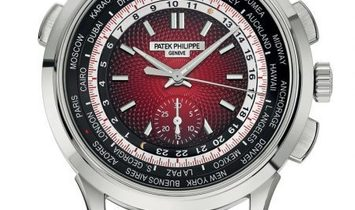 Patek Philippe World Time Chronograph 5930G Singapore Edition