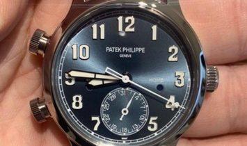 Patek Philippe 7234A Calatrava Pilot Travel Time Singapore 2019 Special Edition