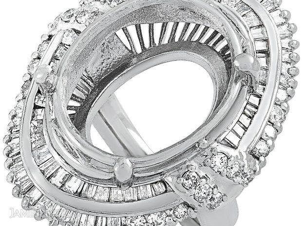 LB Exclusive LB Exclusive Platinum 1.81 ct Diamond Mounti... (10790279)