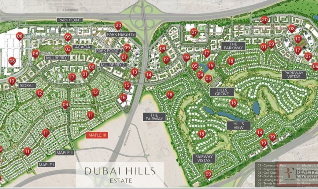 Land / Plot for sell in Dubai Hills Estate Dubai