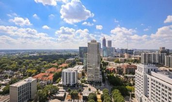 1065 Peachtree Street # 3302, Atlanta, GA 30309 MLS#:6658846