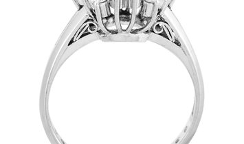 LB Exclusive LB Exclusive Platinum and 0.76 ct Diamond Ring