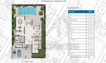 Ready 5BR Contemporary Villa, On Payment Plan