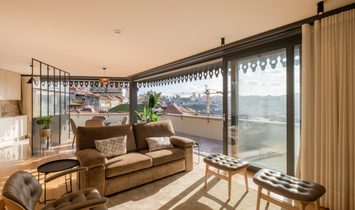Luxury penthouse for sale in downtown Porto, Portugal
