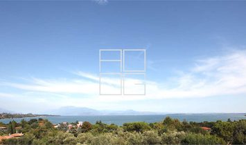 Importante area con totale vista lago