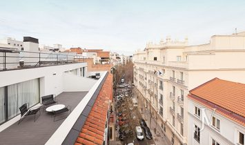 Duplex penthouse in Fortuny Street (Almagro area) 4 bedrooms + 3 bathrooms + garage