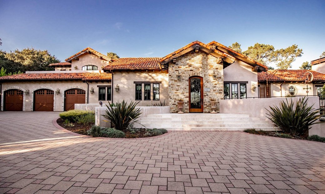 Stately And Private Mediterranean Estate