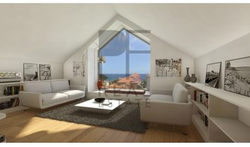 Estoril | Center. Apartment duplex with front view to the sea.