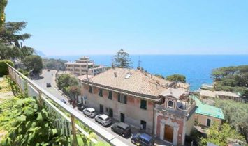 PIEVE LIGURE independent villa of 200 sqm in addition to the 156 sqm apartment below