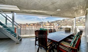 Penthouse apartment in Pregassona with large roof terrace