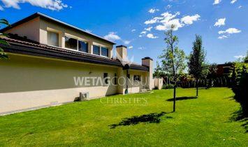 Elegant villa in Lugano with indoor pool & partial lake view