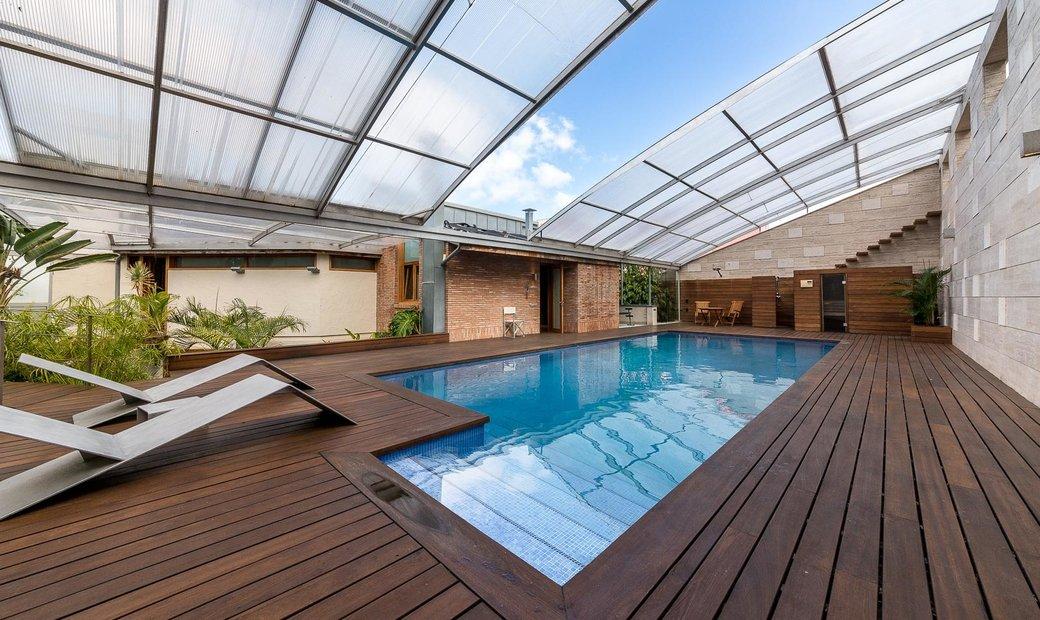 Chalet excepcional con piscina climatizada y vistas al mar - Tafira Baja