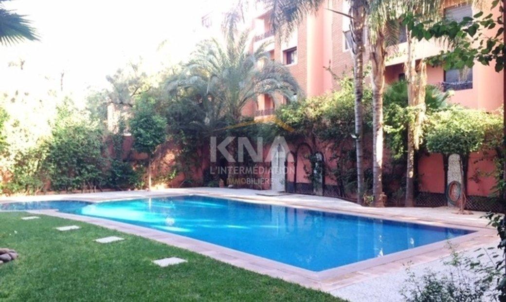 Appartement au sein d'une résidence de haut standing avec piscine et jardin