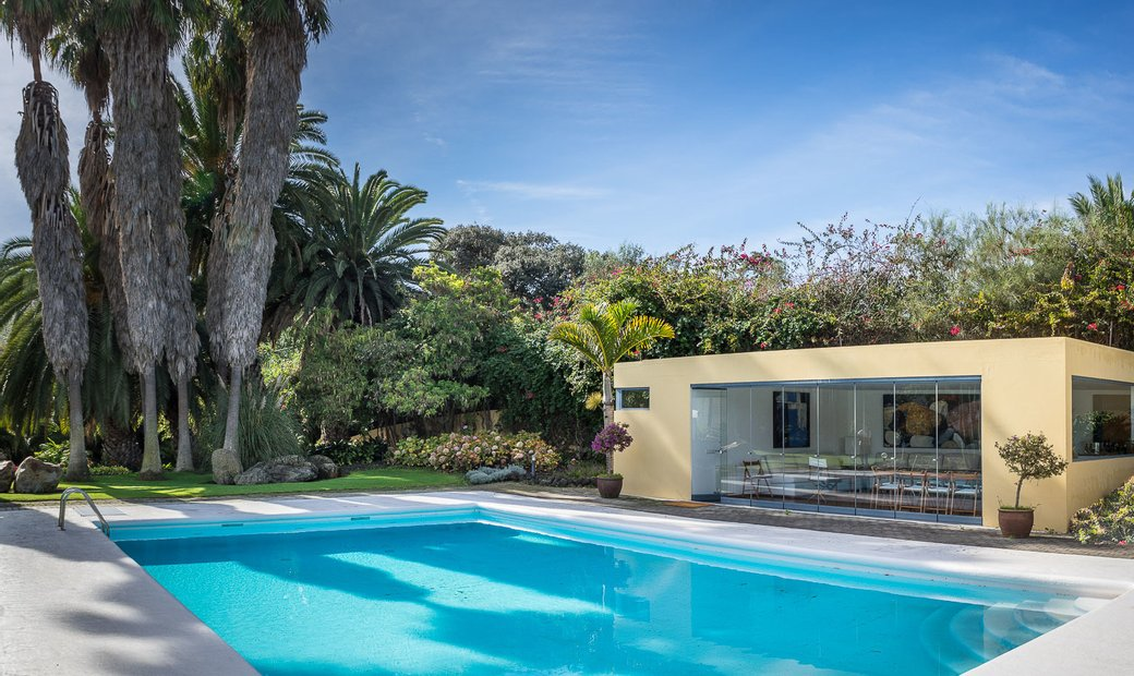 Villa en parcela de 5000 metros en El Mocanal, Santa Brígida