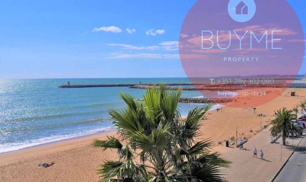 3 bedroom apartment in Quarteira seafront construction