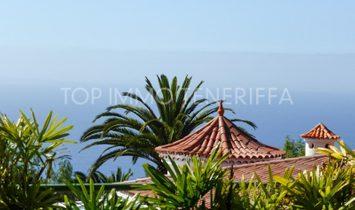 Unique villa with sea and teide views, Santa Ursula - Tenerife North